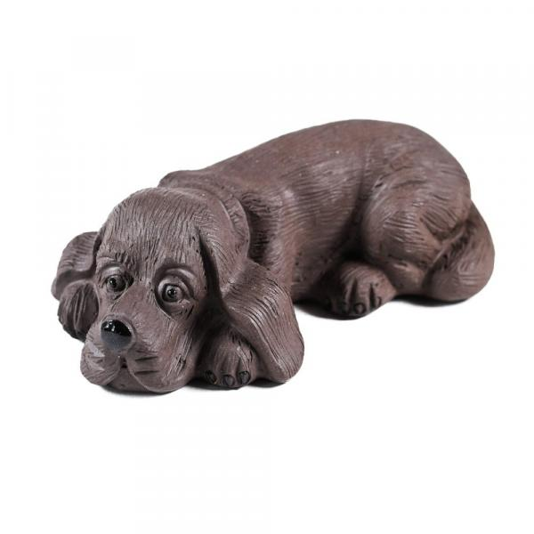 Чайная фигурка собака фото
