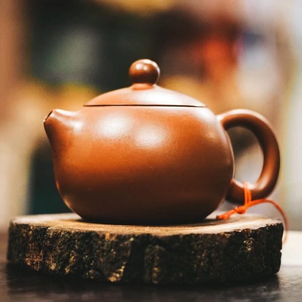Исинский чайник «Си Ши 643» из исинской глины 110 мл фото