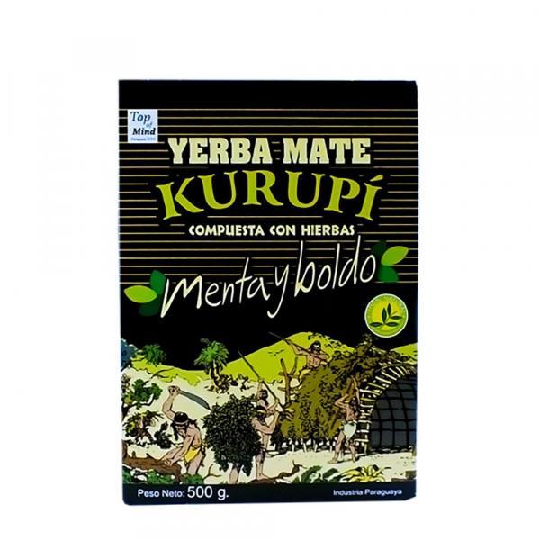 «Kurupi» Menta y Boldo 500 г