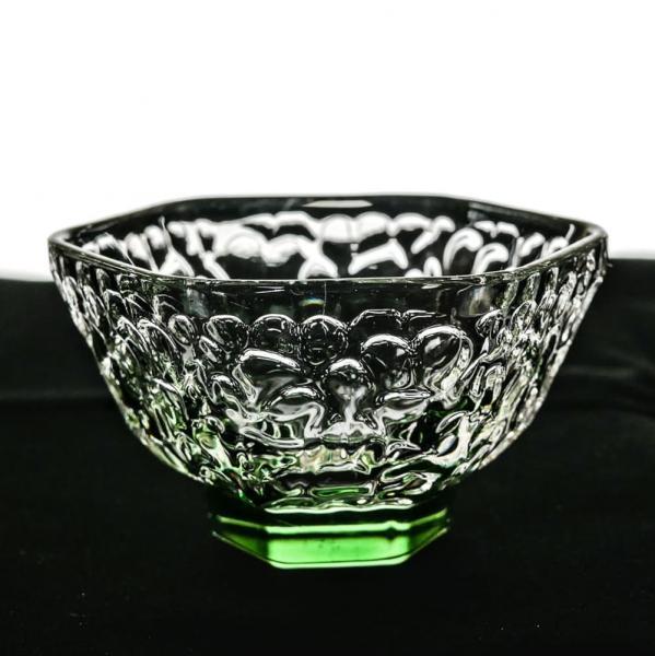 Чашка зеленая отбивное стекло 60мл