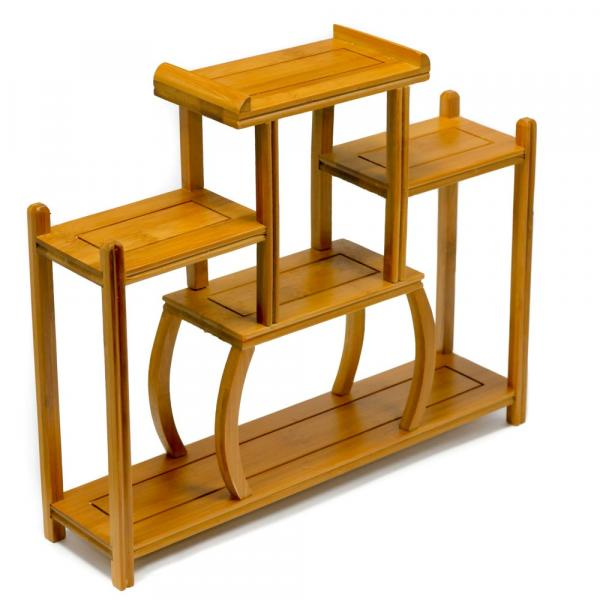 Полка для чайной посуды «Бамбук» 34х29х8 см фото