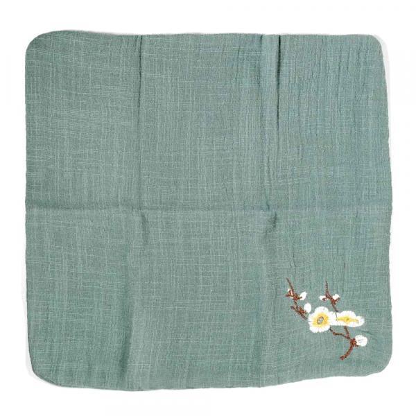 Зеленое полотенце для чая фото