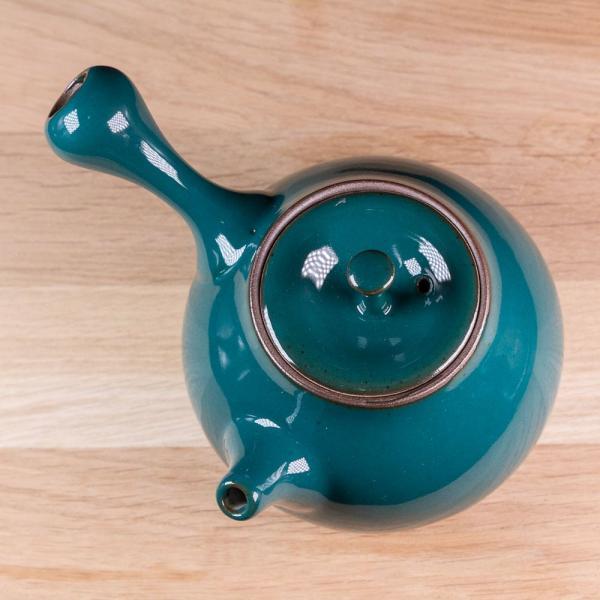 Заварочный чайник «Кюсу» сбоковой ручкой керамика 220мл