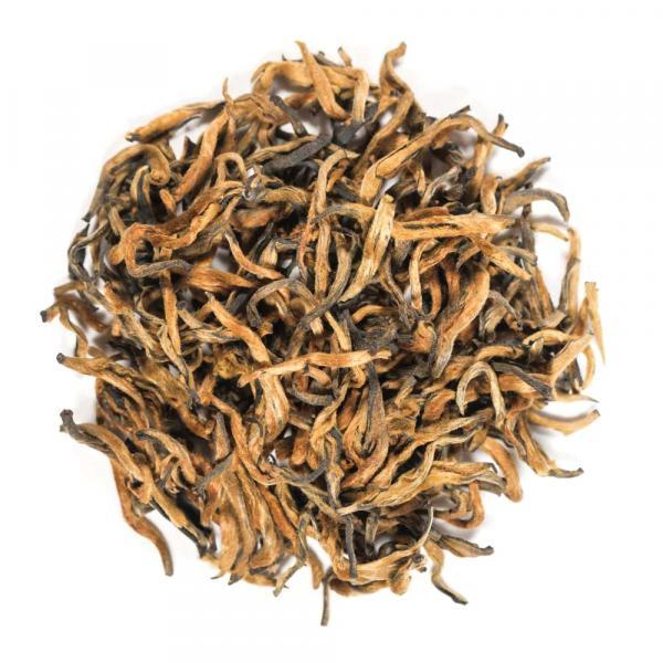 Красный чай Дянь Хун Цзинь Я «Золотая почка»