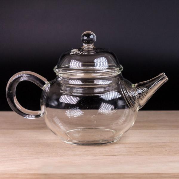 Заварочный чайник из стекла «Классика» 140 мл фото