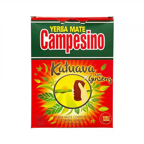 Мате «Campesino» с женьшенем и катуабой 500 г фото