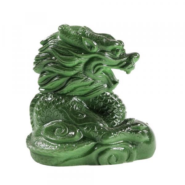 Нефритовый дракон фигурка фото