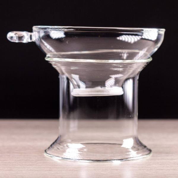 Сито для чая «Стекло 2» на подставке 7×8 см фото
