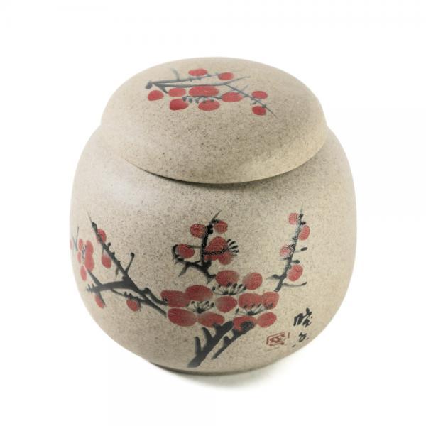 Чайница «Японская вишня» керамика 195мл