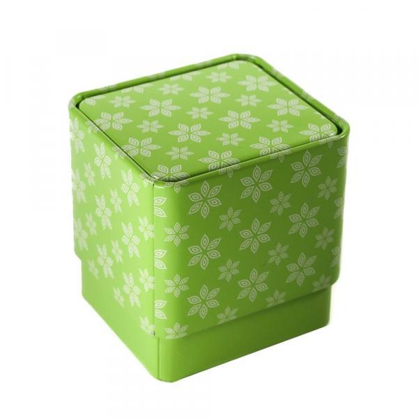 Баночка для чая «Зеленый куб» 200мл