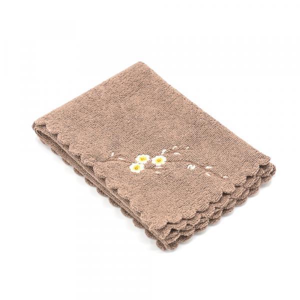 Чайное полотенце «Цветущая Камелия» 30х30 см фото