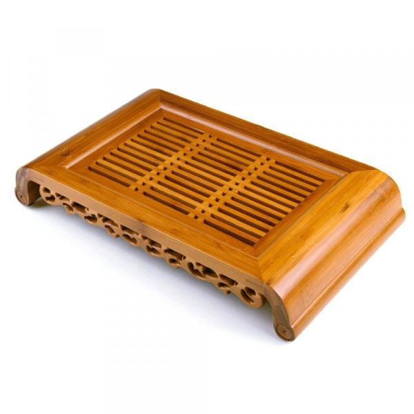 Чайная доска (чабань) «Узор» 40х22см