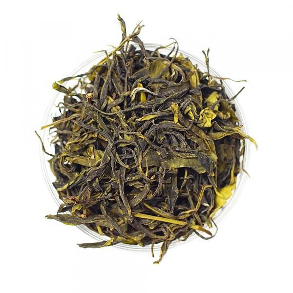 Зеленый Хоста чай