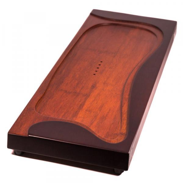 Чабань «Stone Leaf» цельная (ценная порода дерева) 20х59 см фото