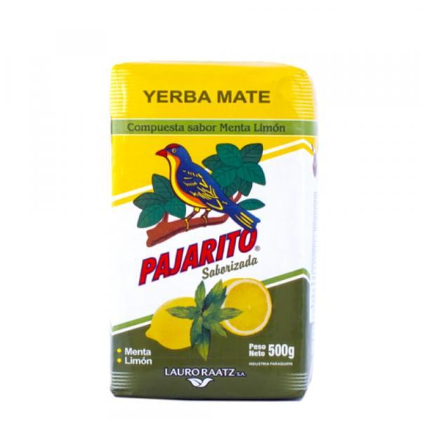 Мате «Pajarito» лимон и мята 500г