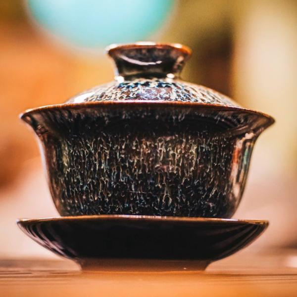 Гайвань (чашка с крышкой и блюдцем)