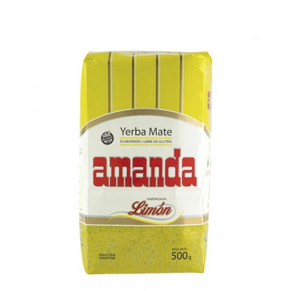 Мате «Amanda» Лимонный 500 г фото