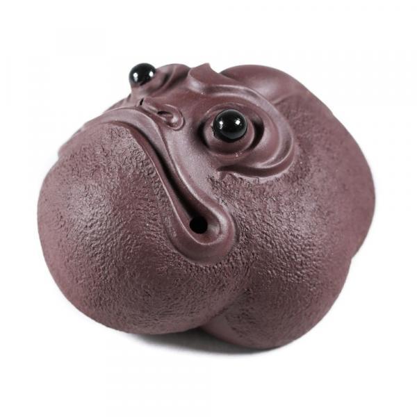 Фигурка чайная жаба смотрящая вверх фото
