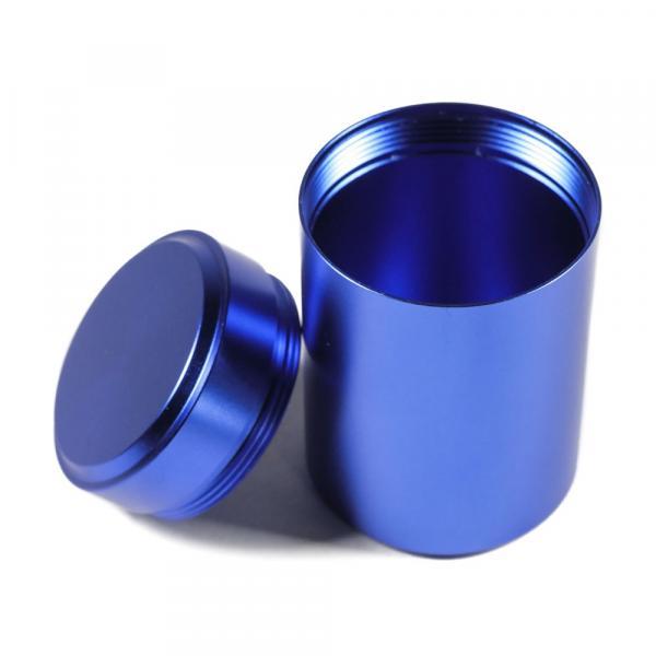 Баночка для чая «Синий» алюминий 4,5х7см