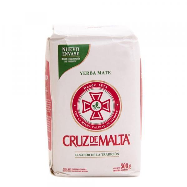 Мате «Cruz de Malta» традиционный 500 г фото