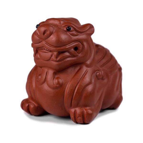 Чайная фигурка сын дракона Пи Сю «386» 6х5см