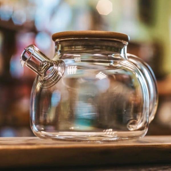 Чайник для варки «Дерево» огнеупорный 1 л фото