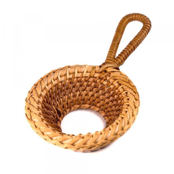Сито для чая «Каламус» плетеное 14см