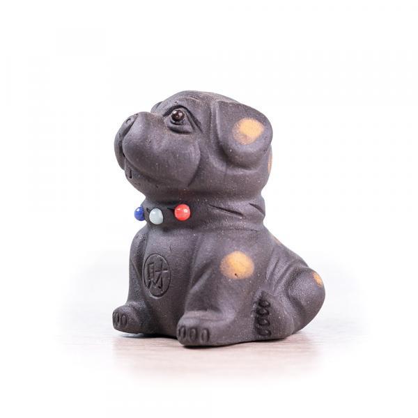 Чайная фигурка «Пятнистый пёс» 4,5 см фото