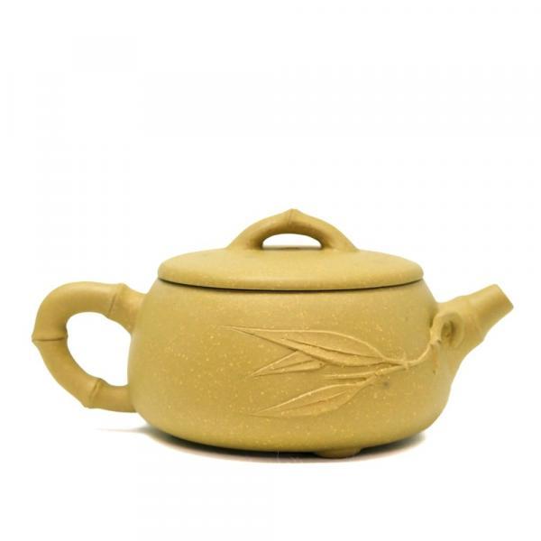 Чайник желтый бамбук 135 мл фото
