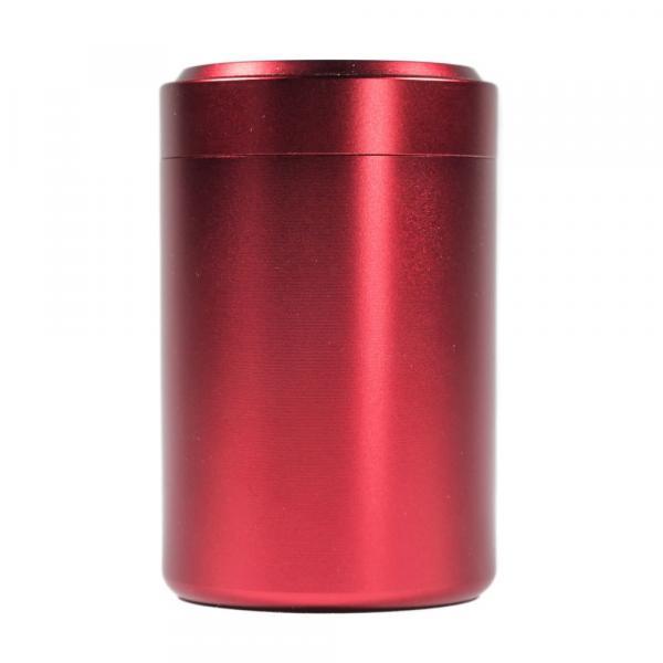 Баночка для чая «Красный» алюминий 4,5х7 см фото