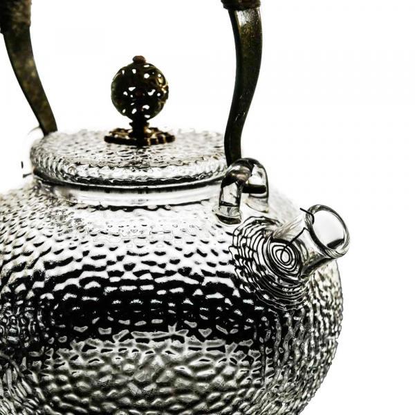 Чайник «Отбивное стекло» жаропрочный 650мл