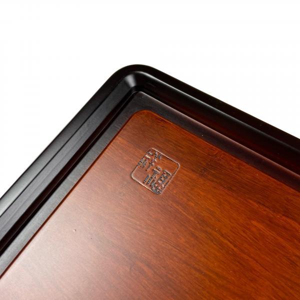 Чайная доска (чабань) «Палисандр» цельная 80×35см
