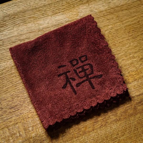 Чайное полотенце «Иероглифы» 28×28 см фото