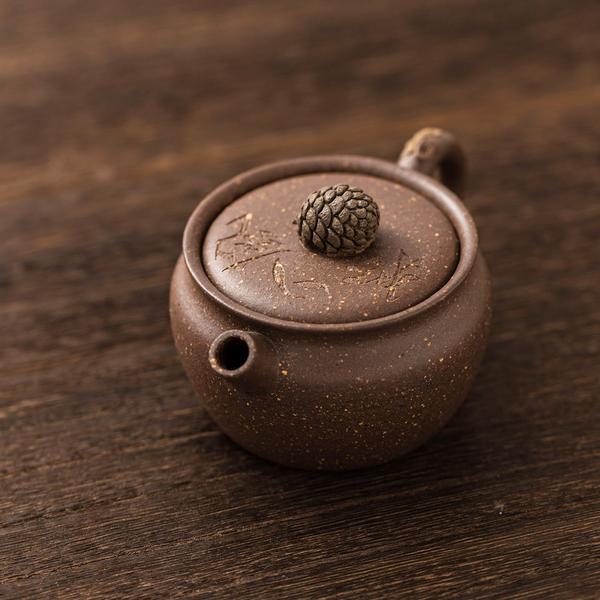 Исинский чайник «Сосновая шишка» 100 мл фото