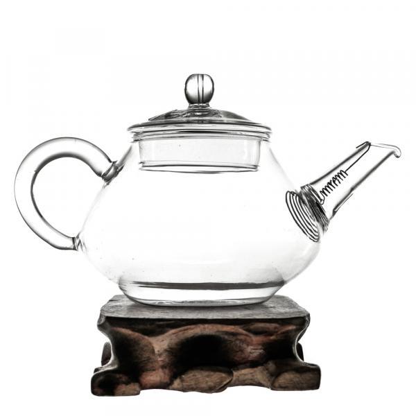 Заварочный чайник из стекла «Классика» 180 мл фото