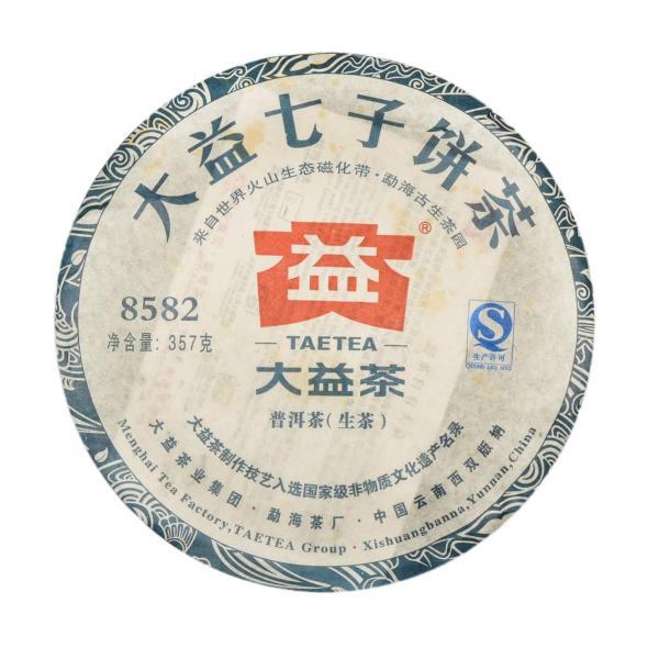 Шэн пуэр Мэнхайской фабрики