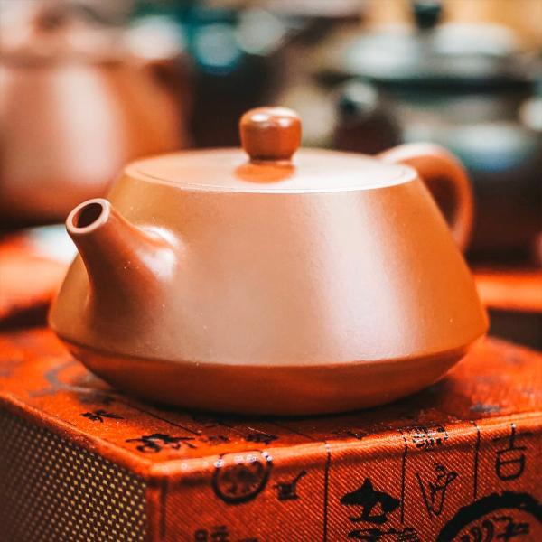 Исинский чайник «Ши Пяо Хун Ни» исинская глина 150 мл фото