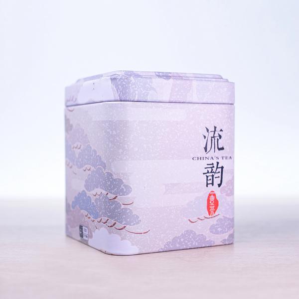 Баночка для хранения чая Снежный день фото