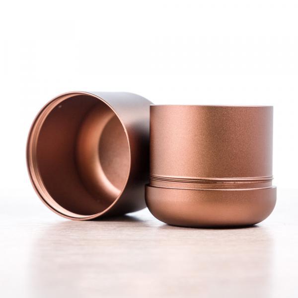 Баночка для чая «Бронзовый Ака» 4,5×5см