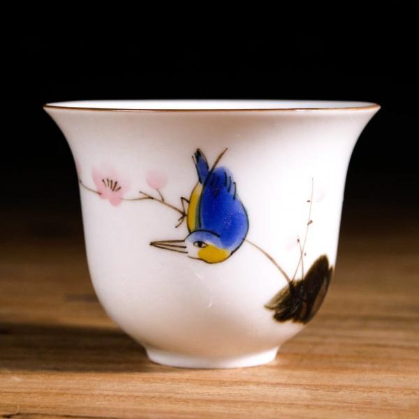 Пиала «Птица и цветы» 70мл