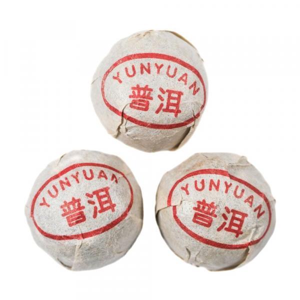 Пуэр Шу «Дикие чайные кусты Юньнани»