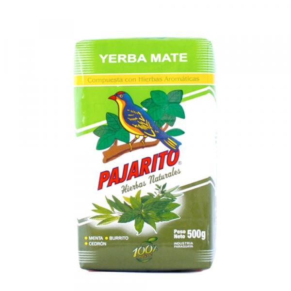 Мате Pajarito Compuesta con Hierbas Aromaticas 500 г фото