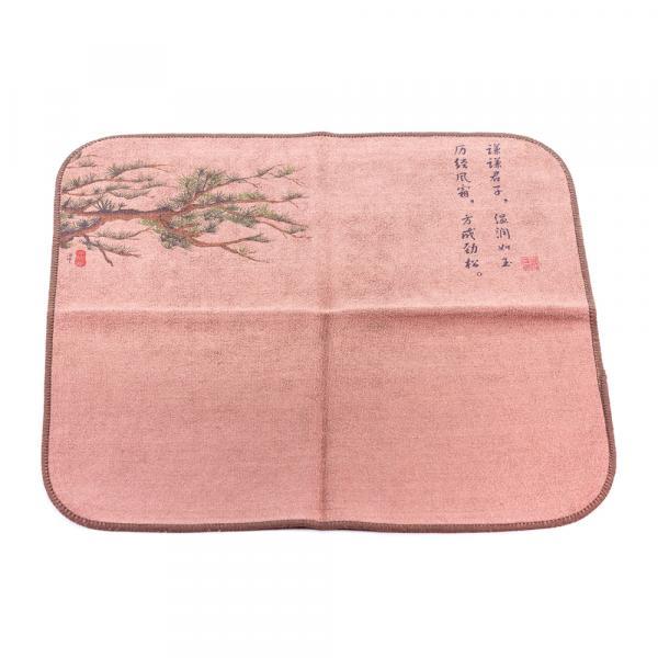Чайное полотенце «Сосны» 30×30см