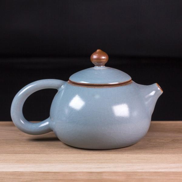 Заварочный чайник «Си Ши» кракелюр 220 мл фото