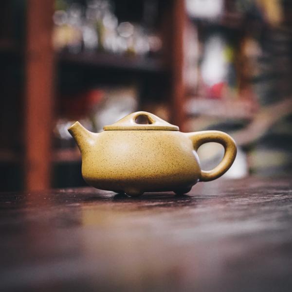 Исинский чайник «Сан Цзу Ши Пяо» белый 150 мл фото