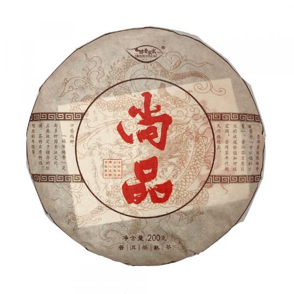 Пуэр Шу органика  «Вольный дракон» Гу Шу Гунтин 2014 г. фото