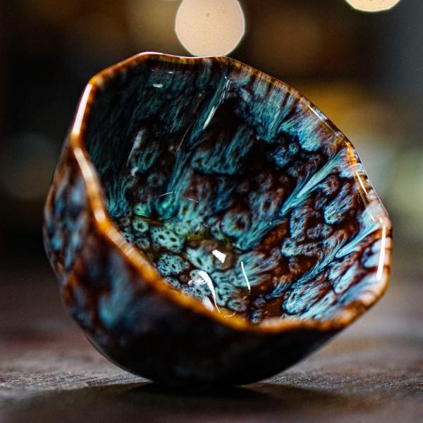 Пиала «Призраки морей» керамика 100 мл фото