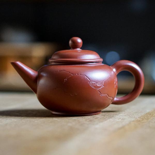 Исинский чайник «Шуй Пин птичка» 160 мл фото