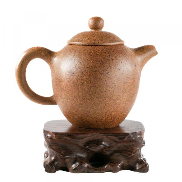 Заварочный чайник «Жёлтый 386» исинская глина 140 мл фото
