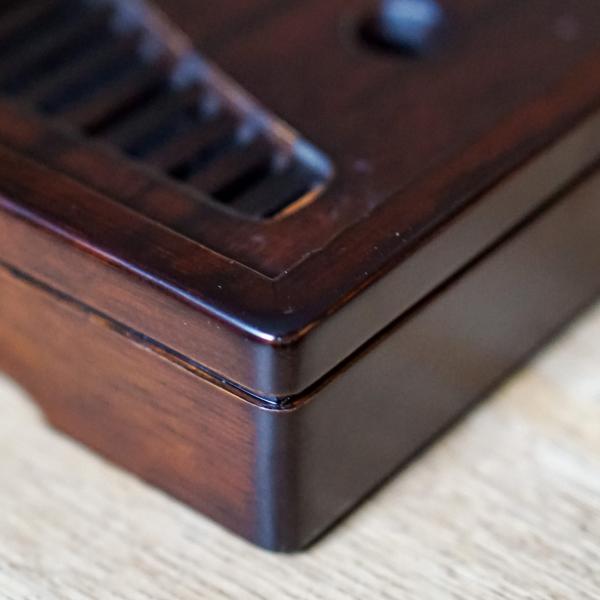 Чайная доска (чабань) «Темная № 2» 35×22см